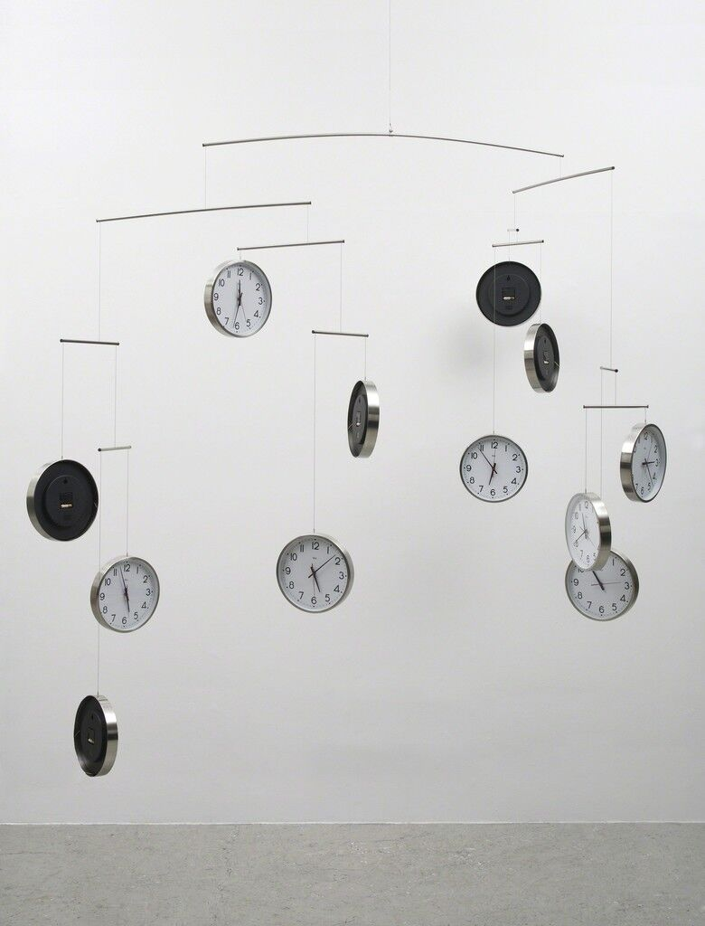 Time and Space (for Joseph Kosuth)