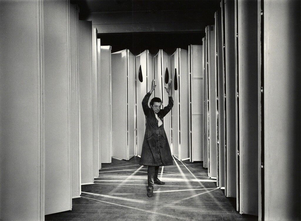Louise Bourgeois inside (Articulated Lair)