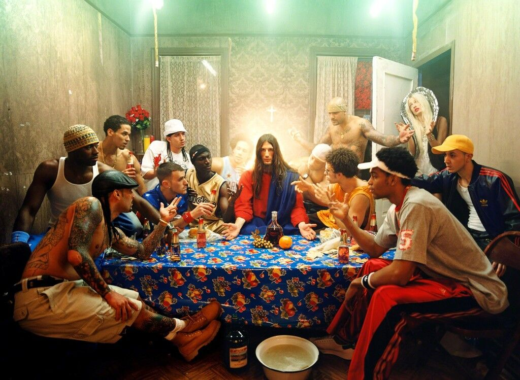 Last Supper (from the series Jesus is my Homeboy)