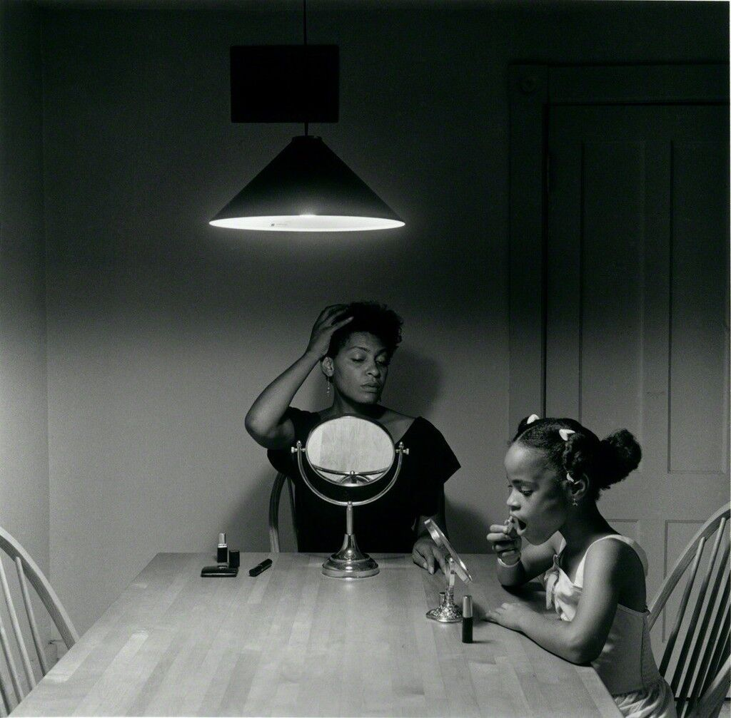 Carrie Mae Weems Untitled From The Kitchen Table Series