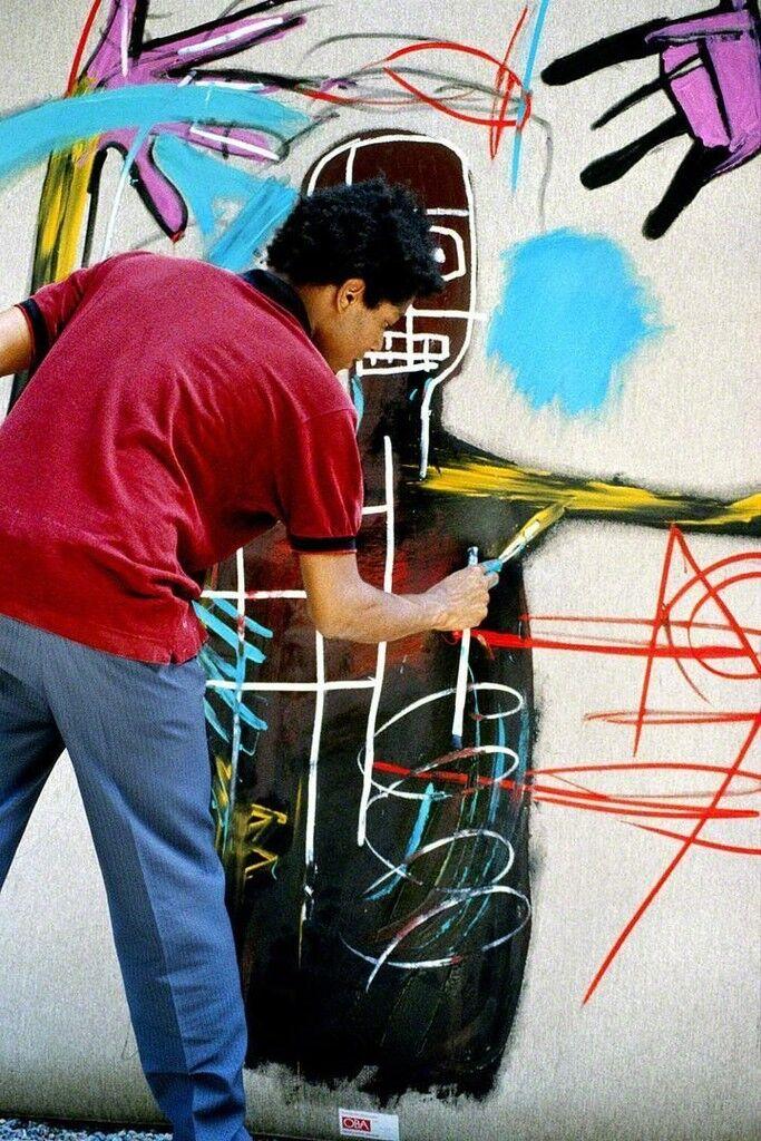 """""""Untitled"""" (Jean-Michel Basquiat, working 4),"""""""