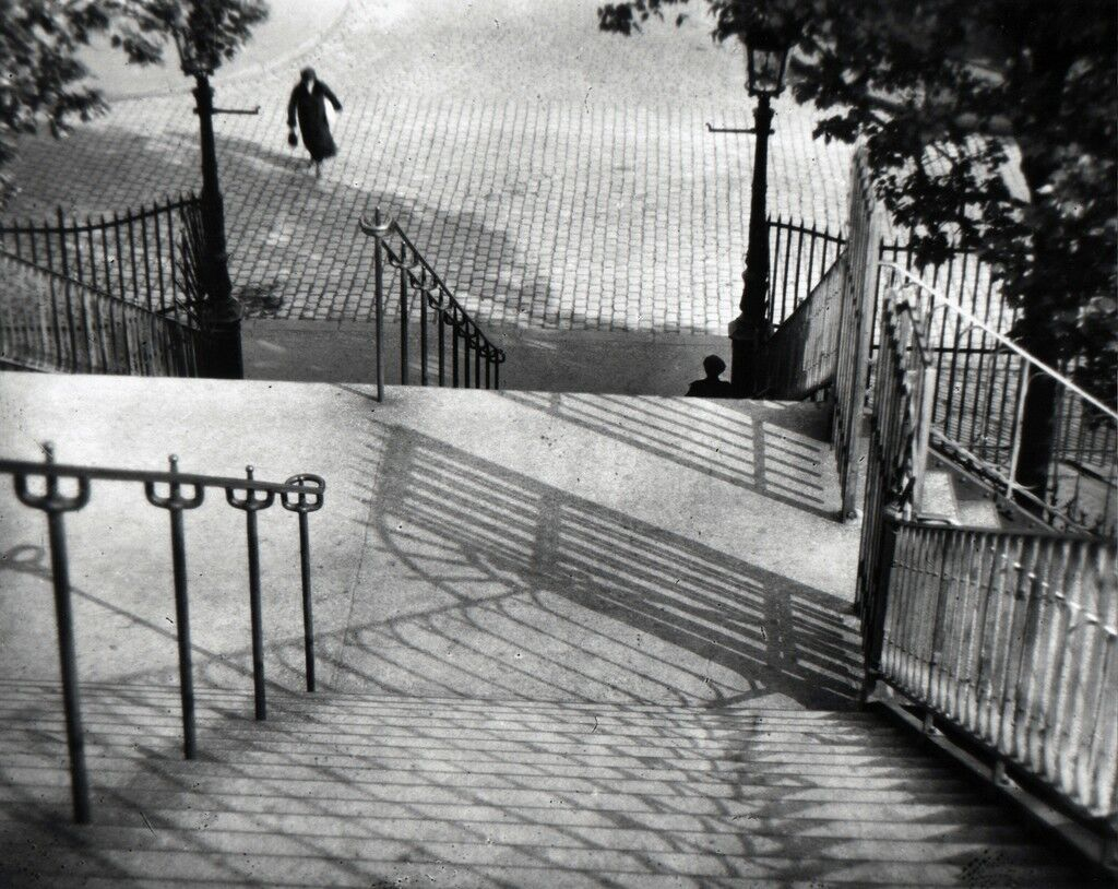 The Stairs of Montmartre, Paris