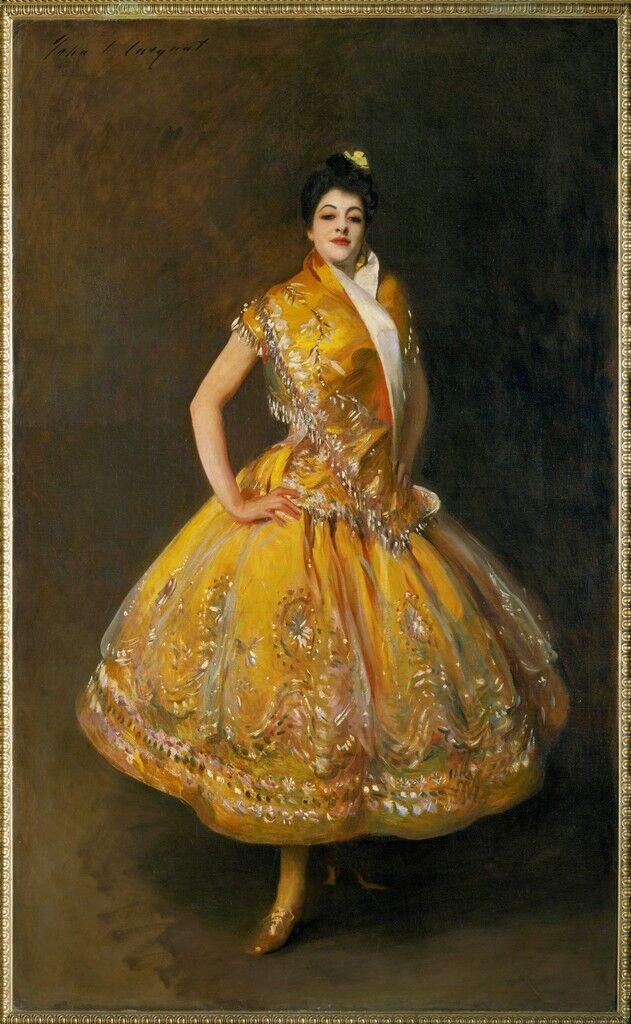 La Carmencita, famous Spanish dancer