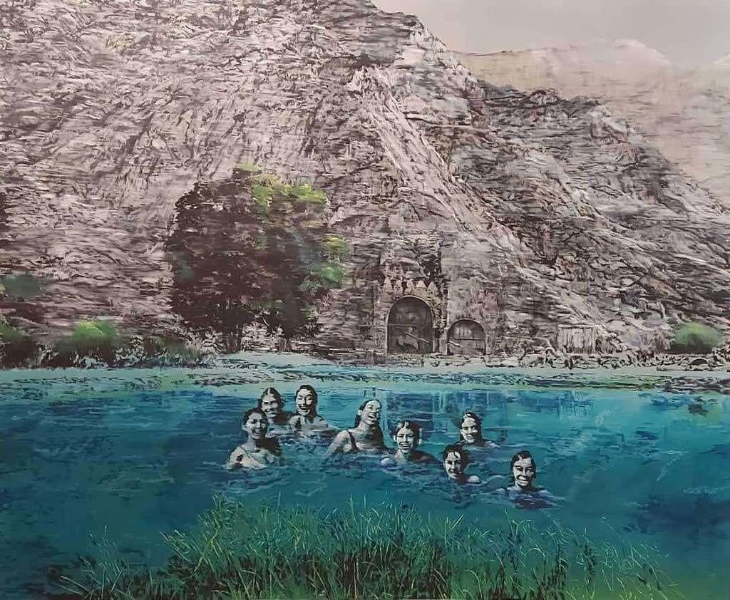 Taq-e Bostan Swamp