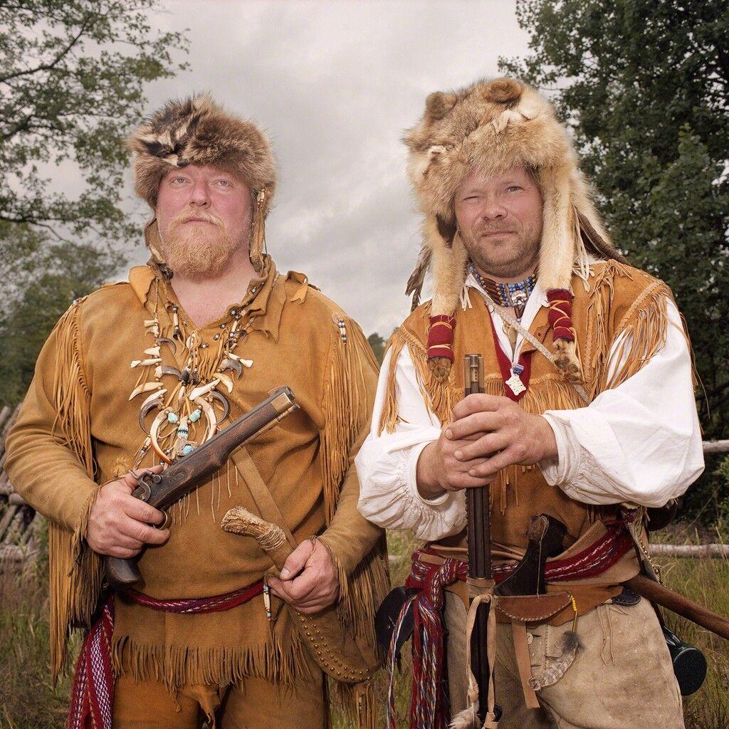 Fur Trappers, High Chaparral, Hillerstorp, Sweden