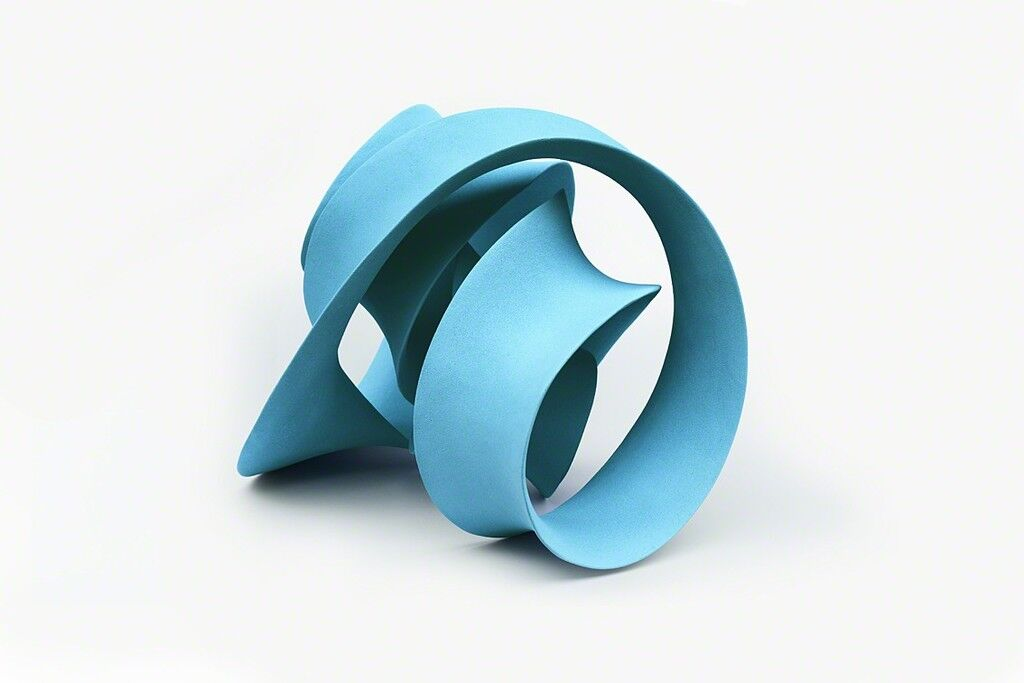 Quadruple Twisted Loop (Pale Blue)