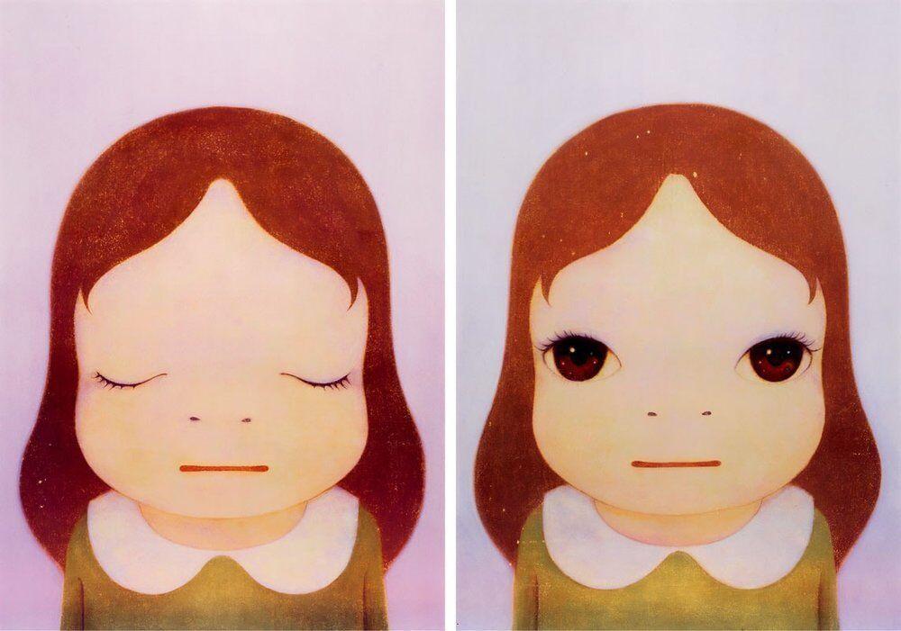 Cosmic Girl (Eyes Open, Eyes Shut)