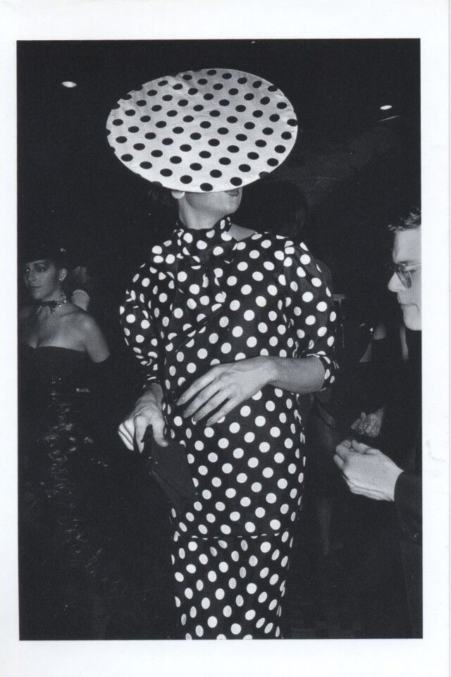 Polka Dot Man, NYC, 1980