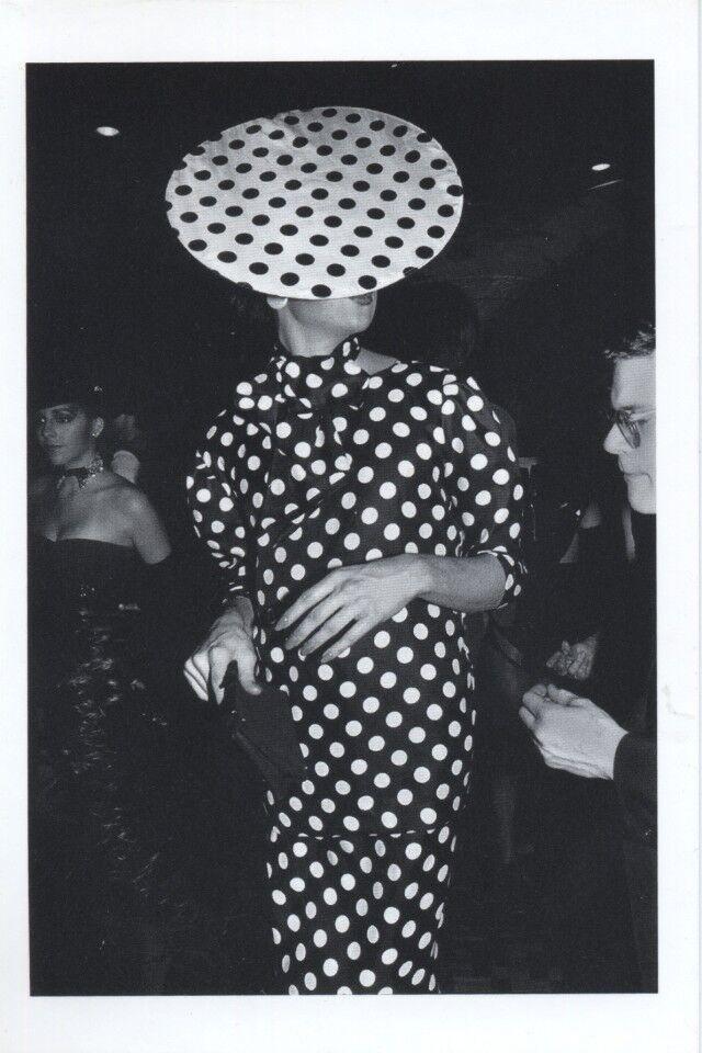 Polka Dot Man, NYC, 1980