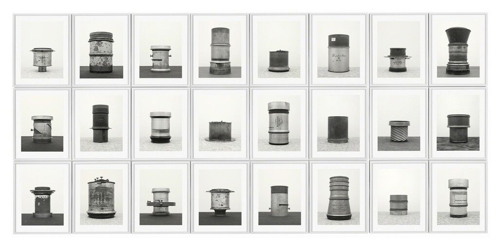 Objektiv, After Bernd & Hilla Becher