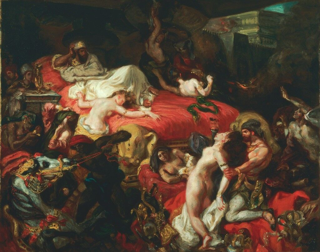 La mort de Sardanapale (Muerte de Sardanapalus)