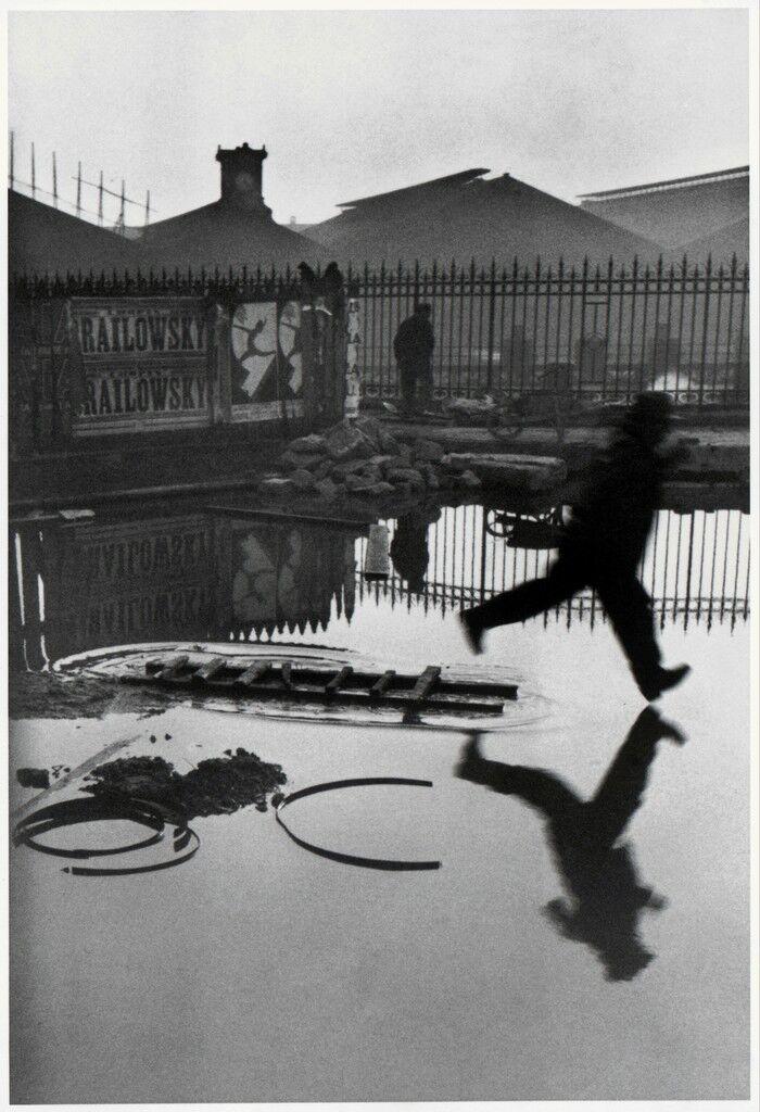 BEHIND THE GARE SAINT-LAZARE, PARIS, 1932
