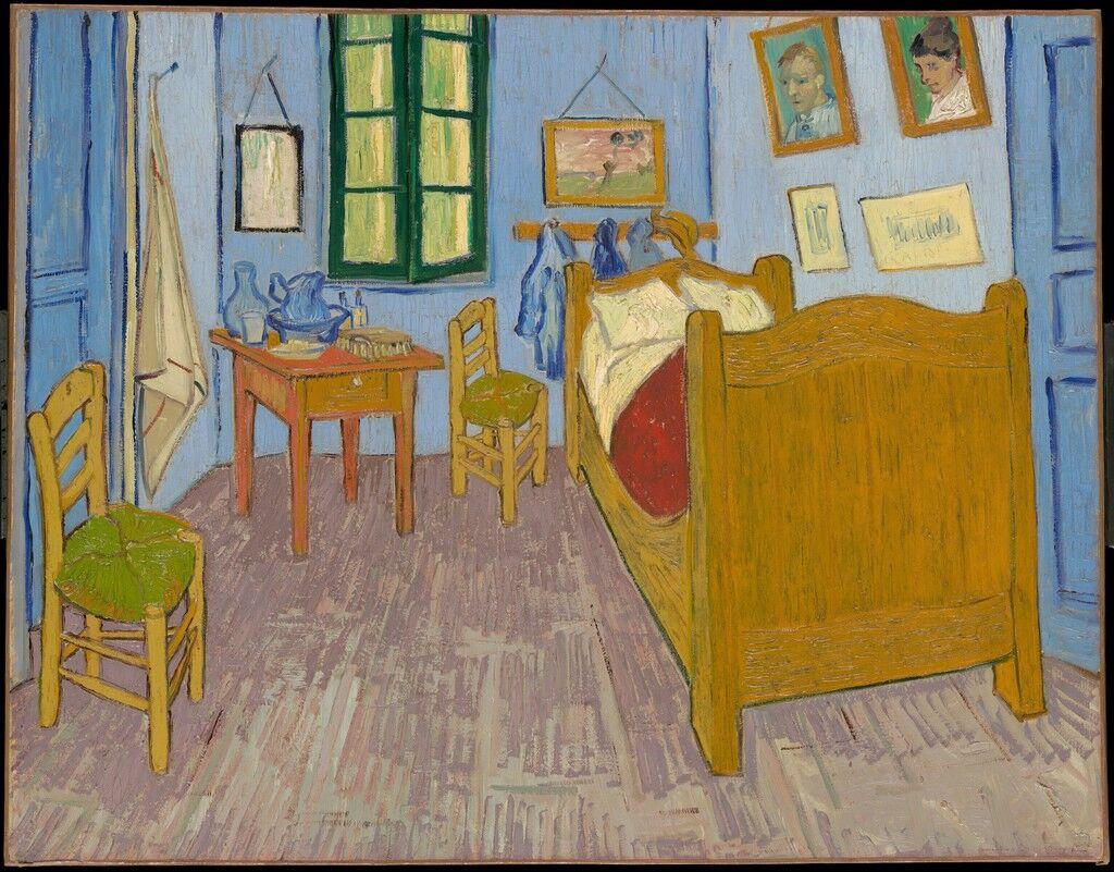 La chambre de Van Gogh à Arles (Van Gogh's Bedroom in Arles)