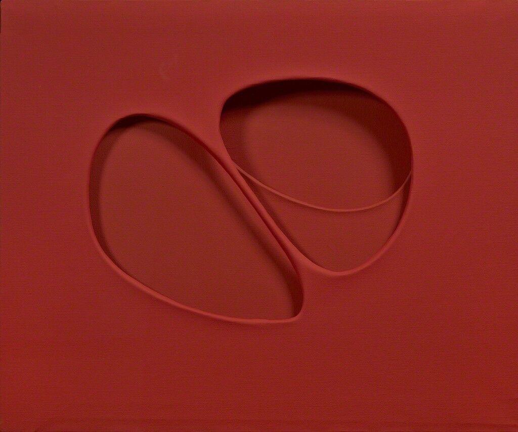 Intersuperficie curva dal rosso (Costruzione su forme inventate)