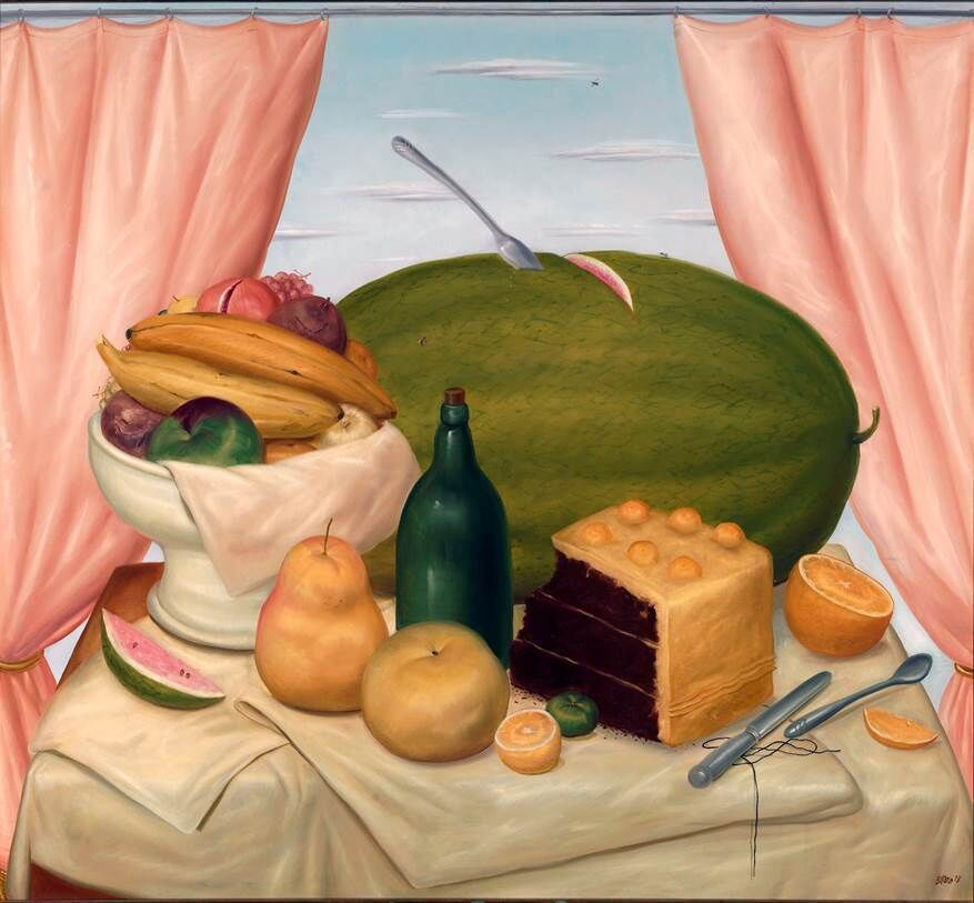 Still-life with Watermelon