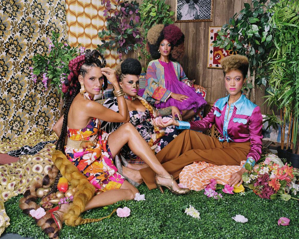 Racquel with Les Trois Femmes