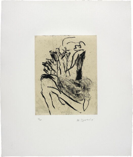 Seventeen Lithographs for Frank O'Hara: one plate