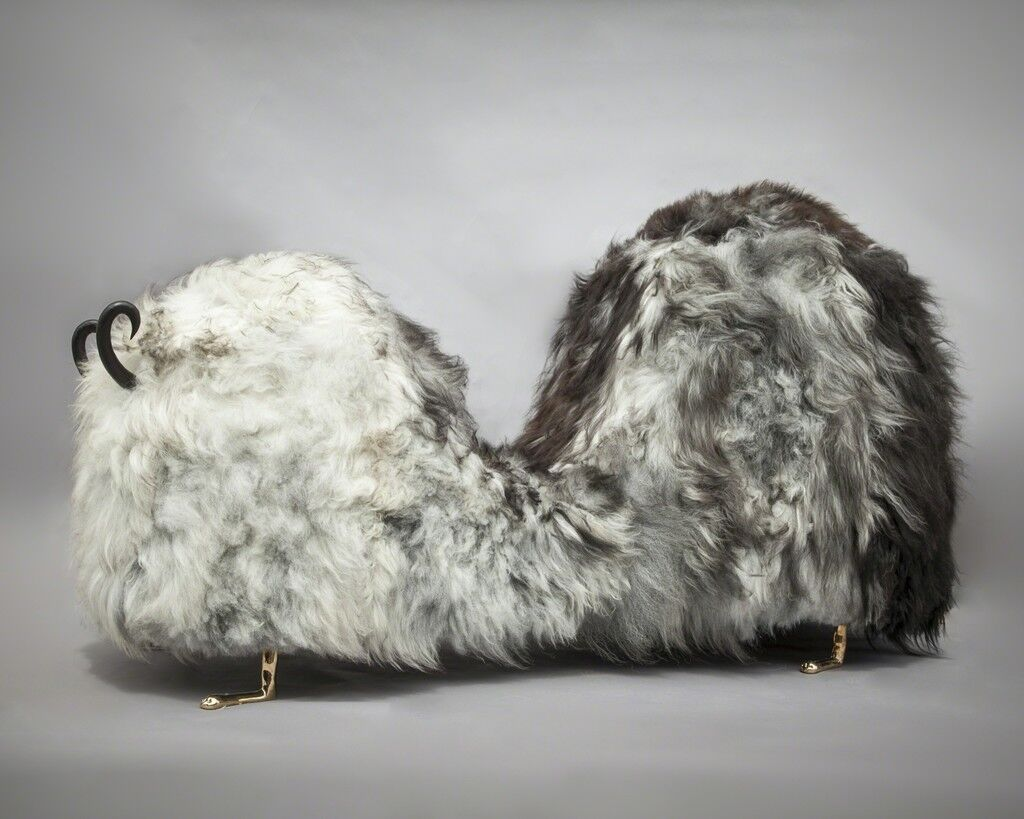Hairy J. Blige double-hump bench from the Beast series