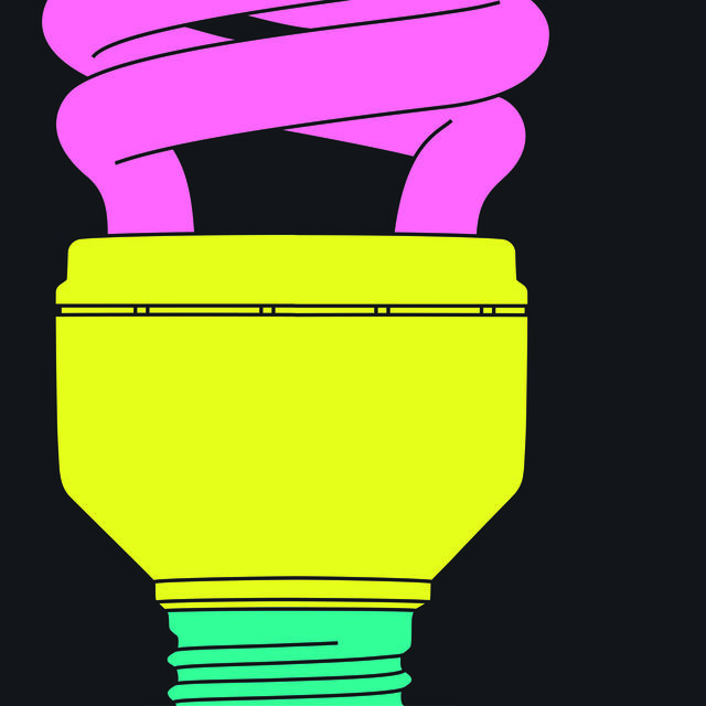 Light bulb (fragment)