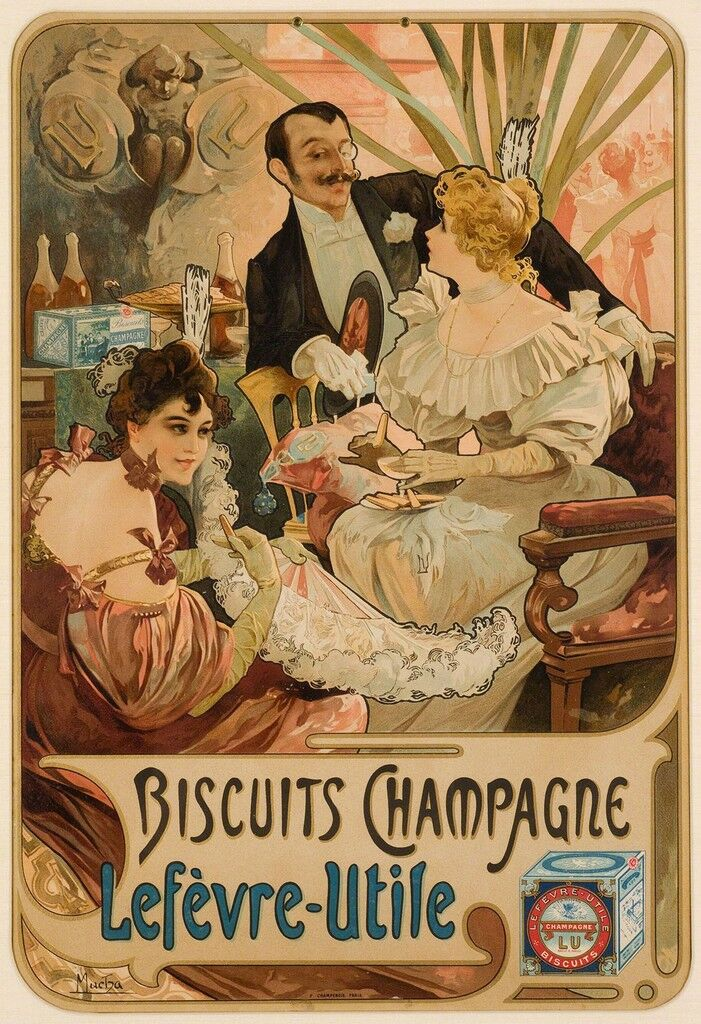 BISCUITS CHAMPAGNE LÈFEVRE-UTILE