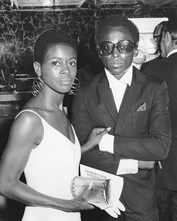 Cicely Tyson and Miles Davis, Senator Eugene McCarthy's Presidential Campaign Benefit, New York