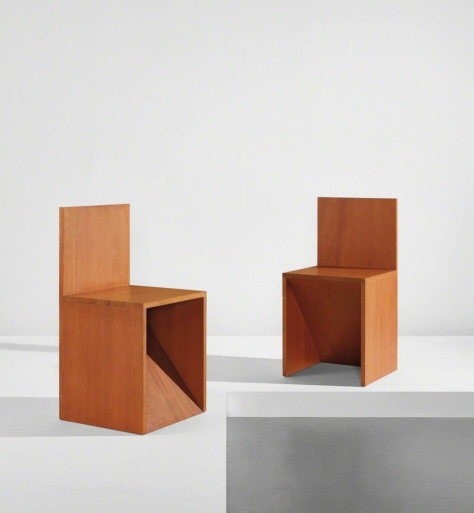 """""""Forward Slant Chair 84"""" and """"Backward Slant Chair 84"""""""