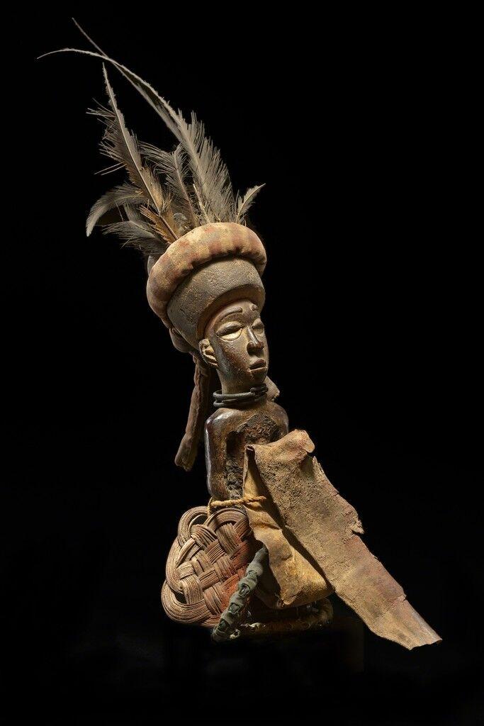 Nkonde Vili - Democratic Republic of the Congo, Africa_Male Fetish Figure _
