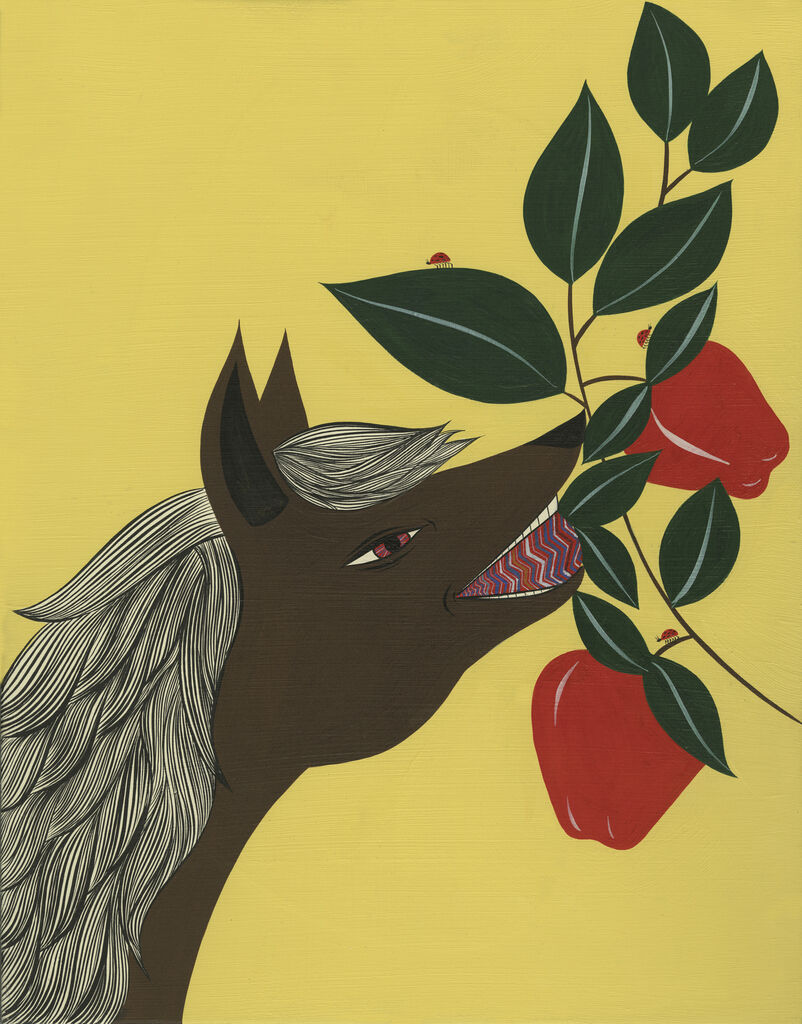 Untitled (Horse And Apple)