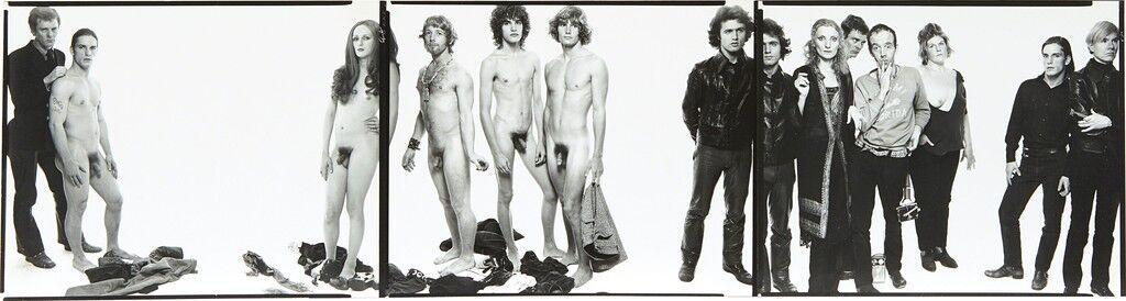 Andy Warhol y miembros de The Factory, Nueva York, 30 de octubre