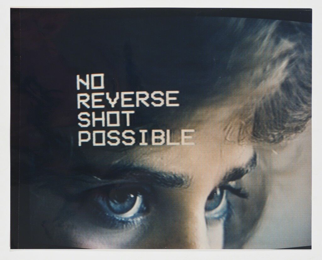 'No Reverse Shot Possible' from the series 'Television Eyes'