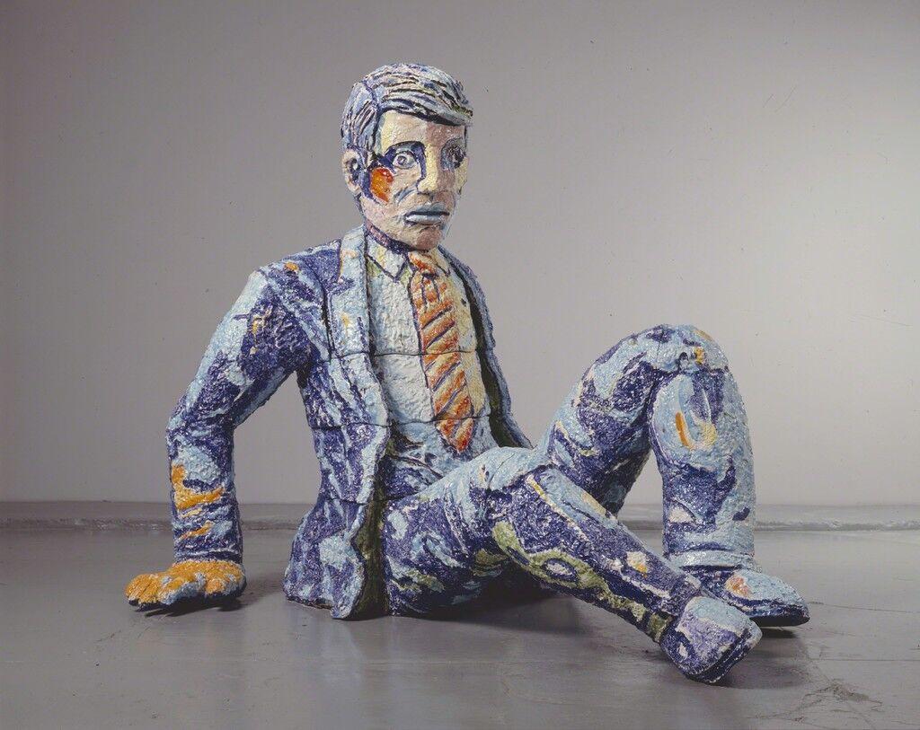 Falling Man In Suit