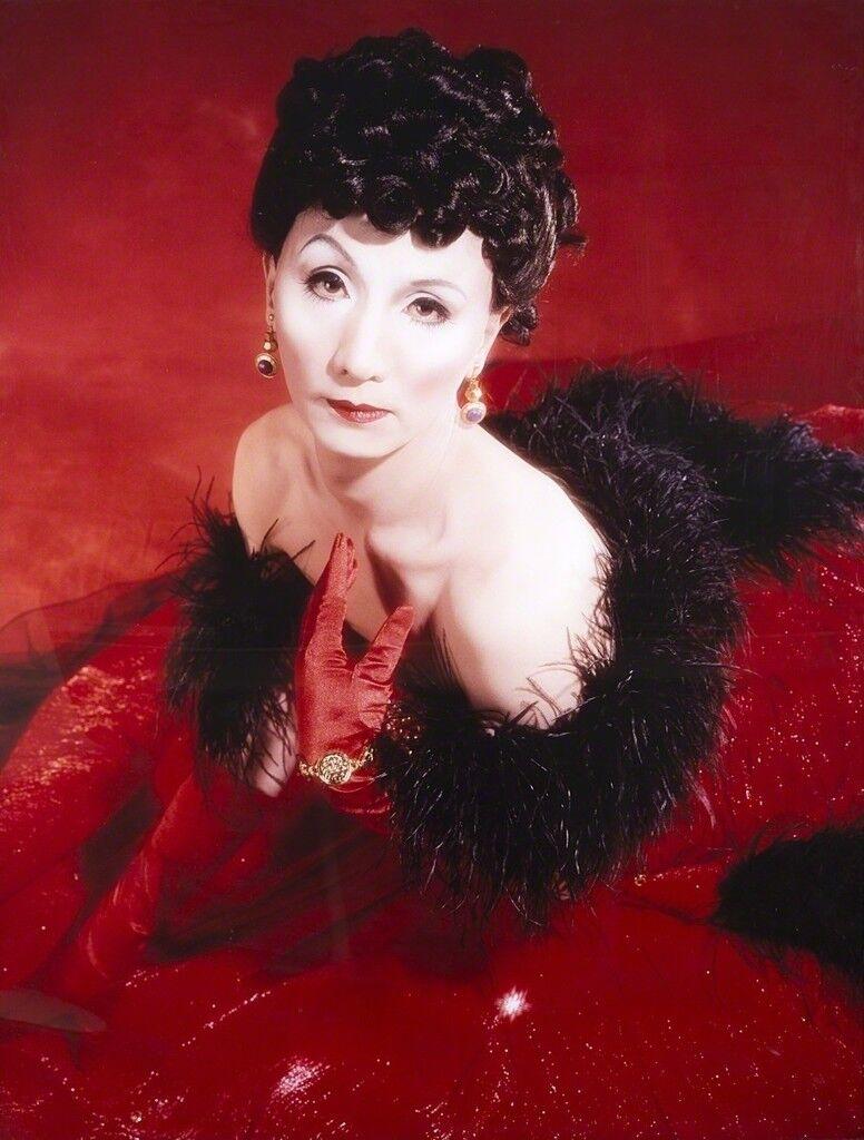 Self-portrait (Actress) after Vivien Leigh 2