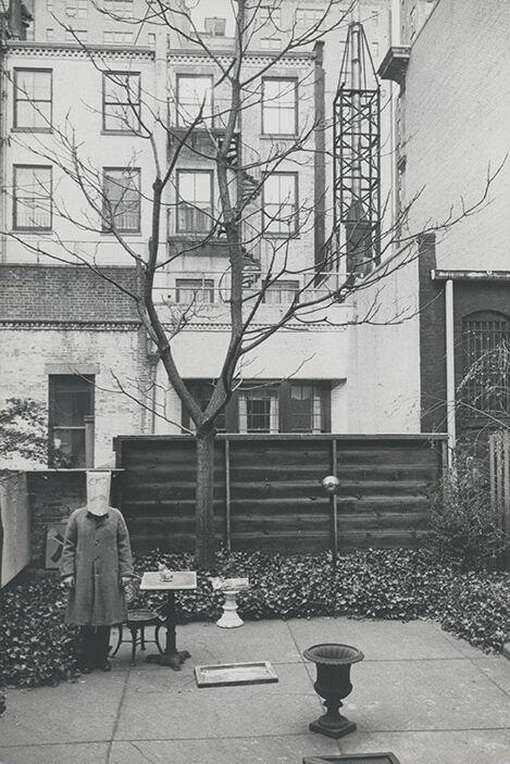 Saul Steinberg with Mask
