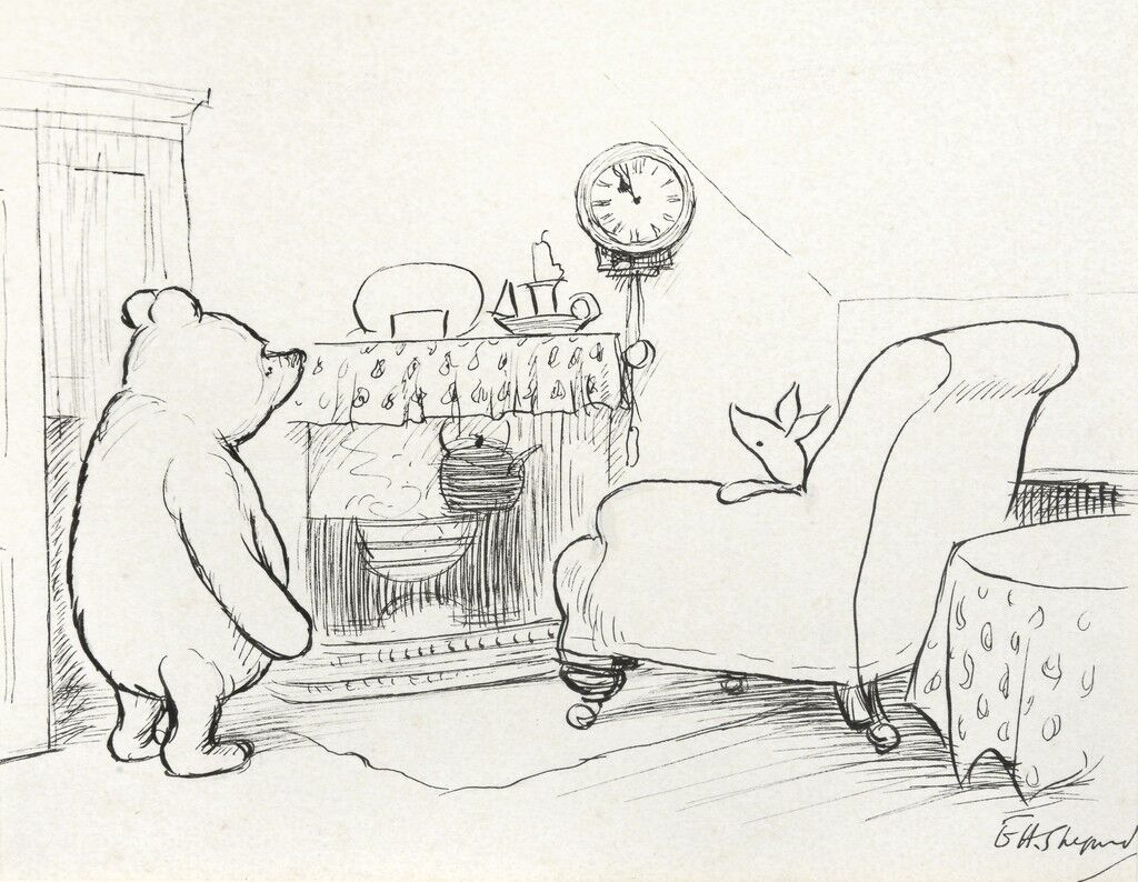 'Nearly Eleven O'Clock', Said Pooh Happily