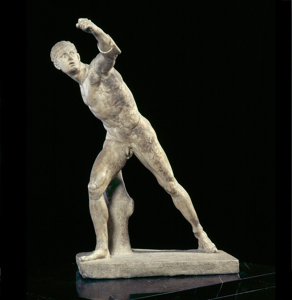 "Guerrier combattant, dit le ""Gladiateur Borghèse"" (Fighting Warrior, called ""Borghese Gladiator"")"