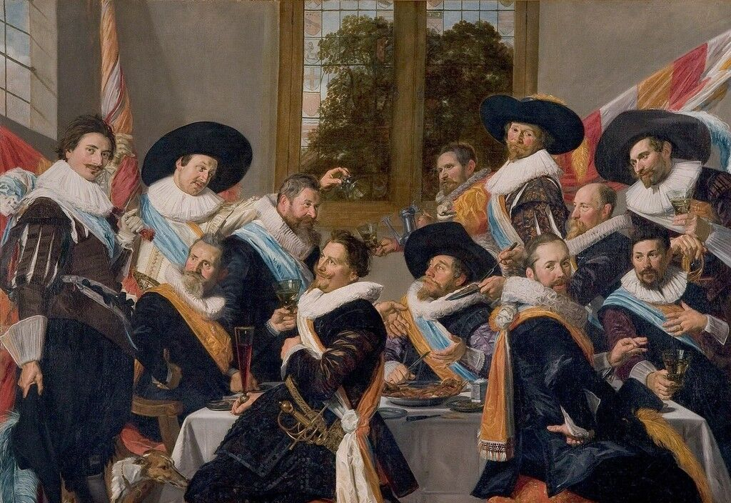 Officers of the Haarlem Militia Company of Saint Adrian