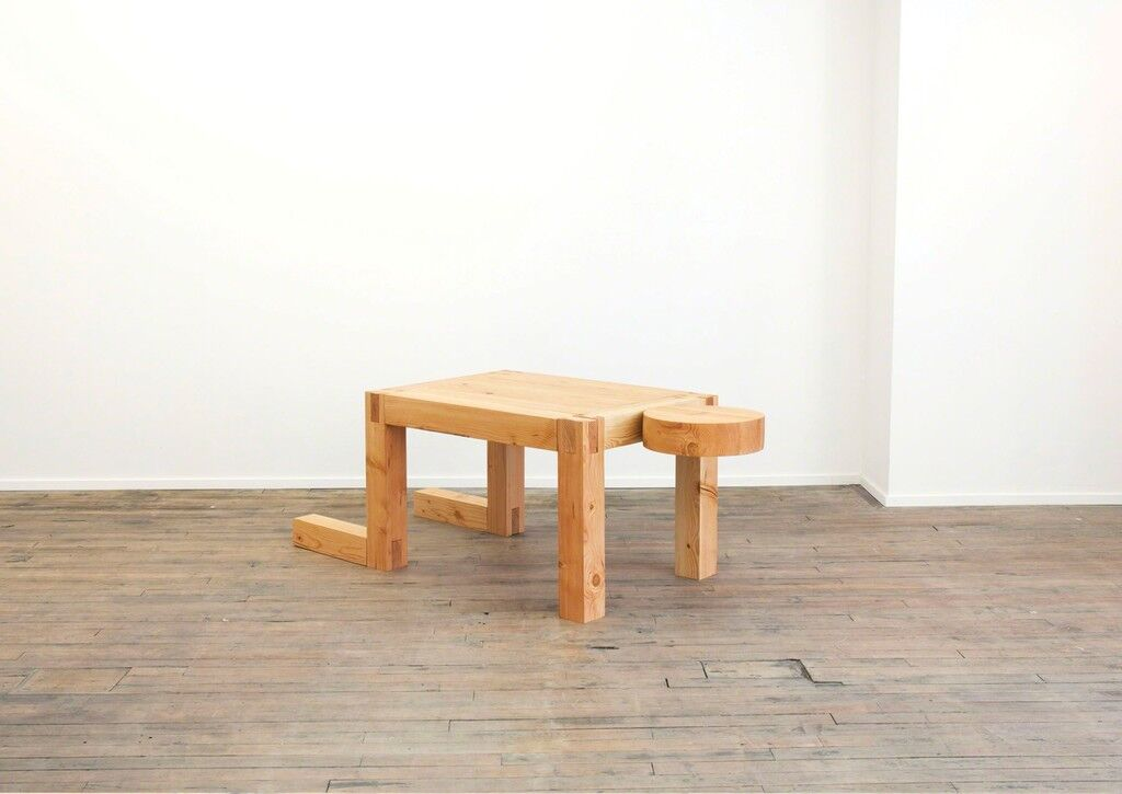 Truth Lies in Experience No Matter How  Incomplete It Might Be (Man/Desk/Table)