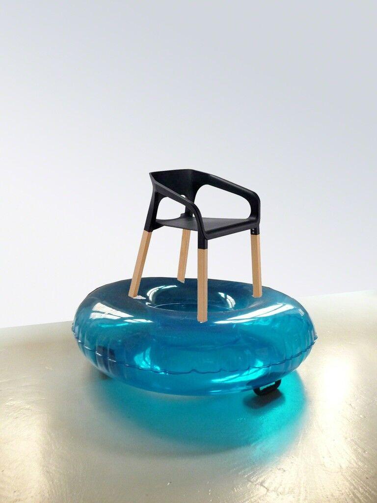 Chaise bouée simple popwood