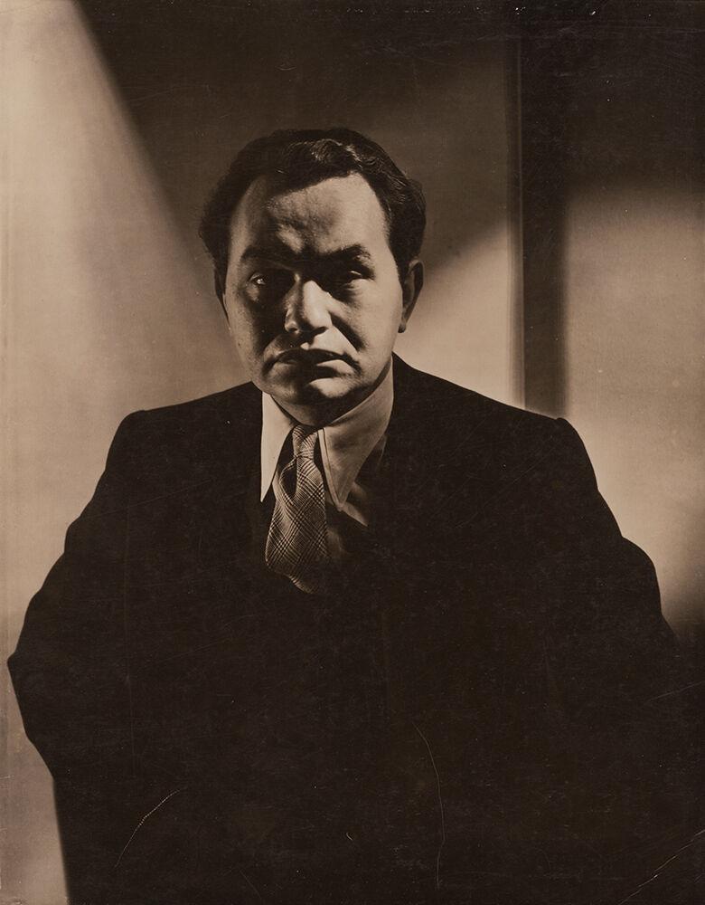 Actor Edward G. Robinson