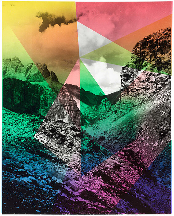 Composition with Mountain, For Parkett 94