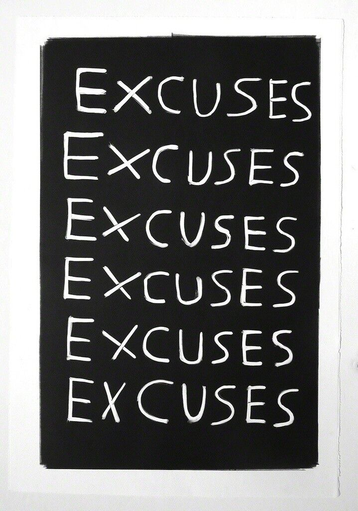 Untitled (Excuses)