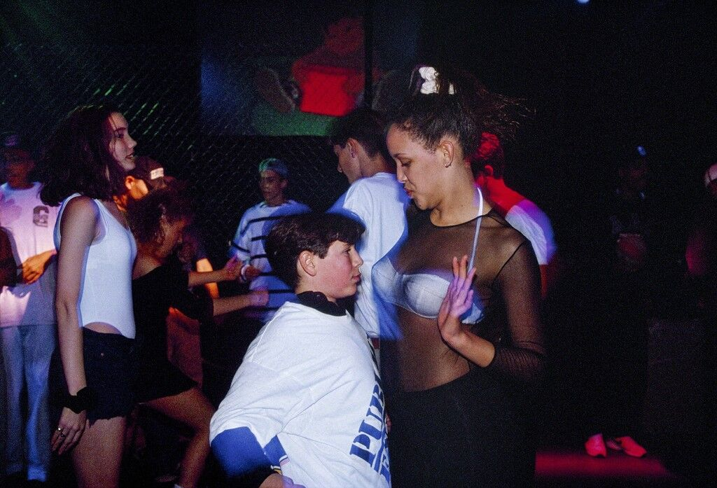 Adam, 13, and a go-go dancer hired to entertain at a bar mitzvah party at the Whisky a Go Go nightclub in West Hollywood