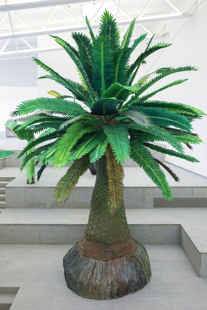 Tropical Composition/Canary Island Palm No. 2