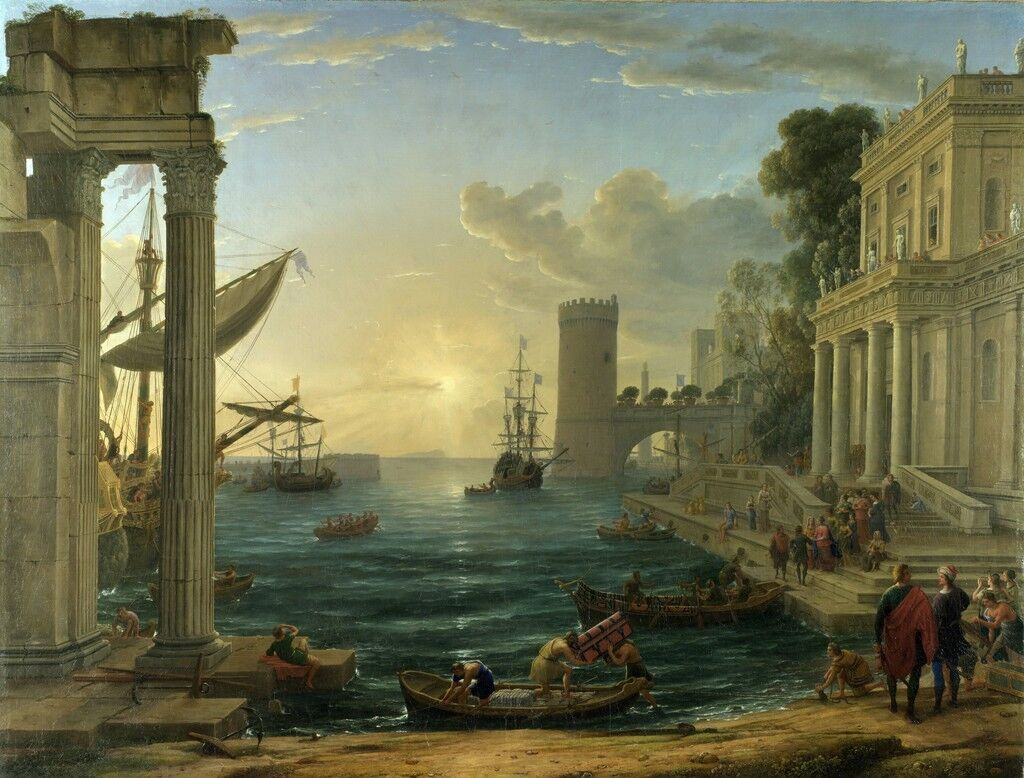 Embarkation of the Queen of Sheba