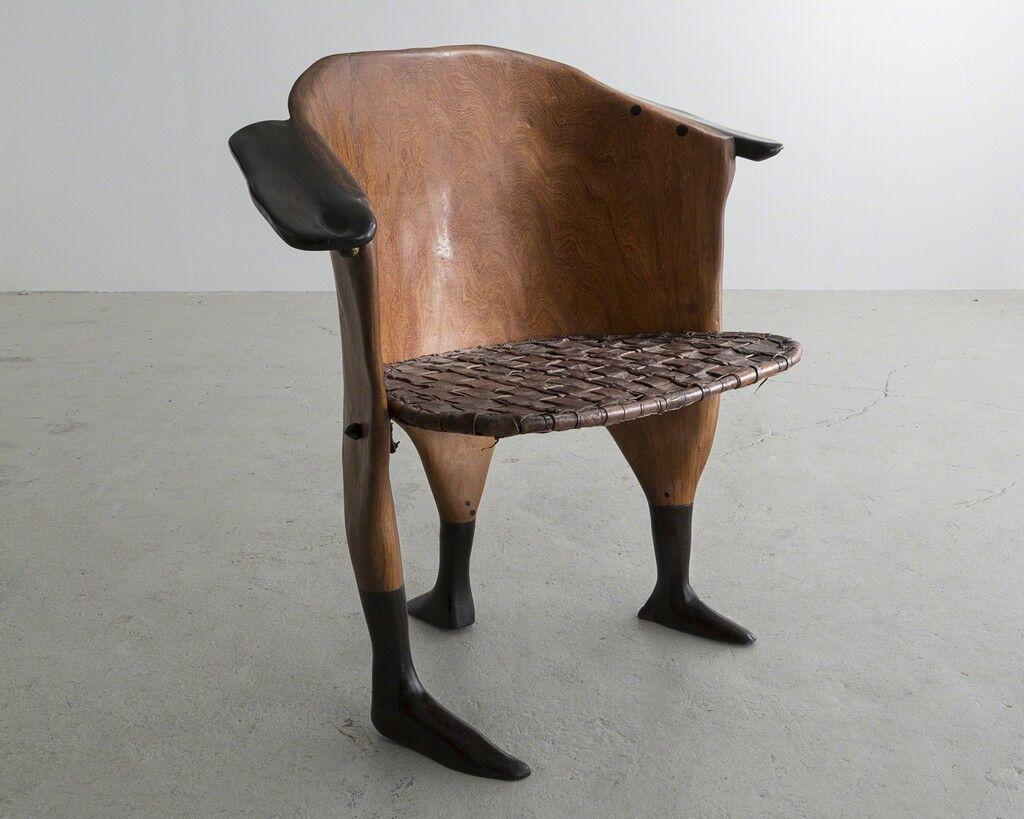 "Sculptural ""Peaux Tendres"" Chair"