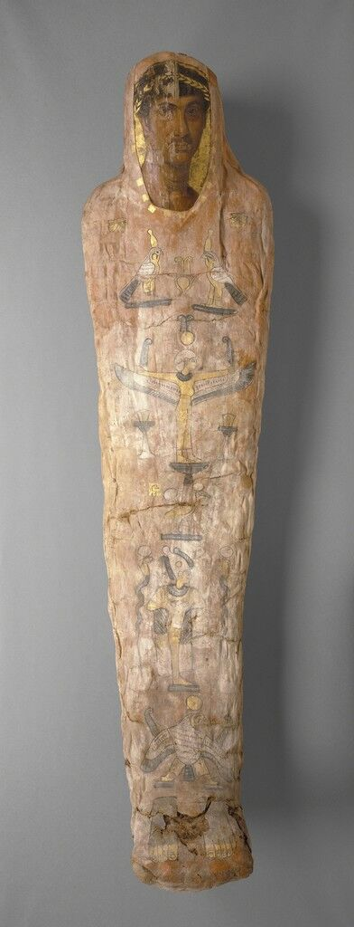 Mummy with Cartonnage and Portrait