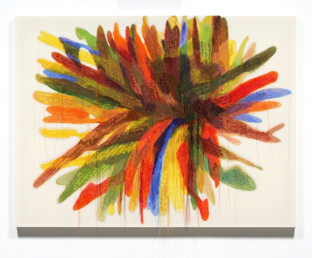 Abstract Weave / Morris Louis X4 1959-60