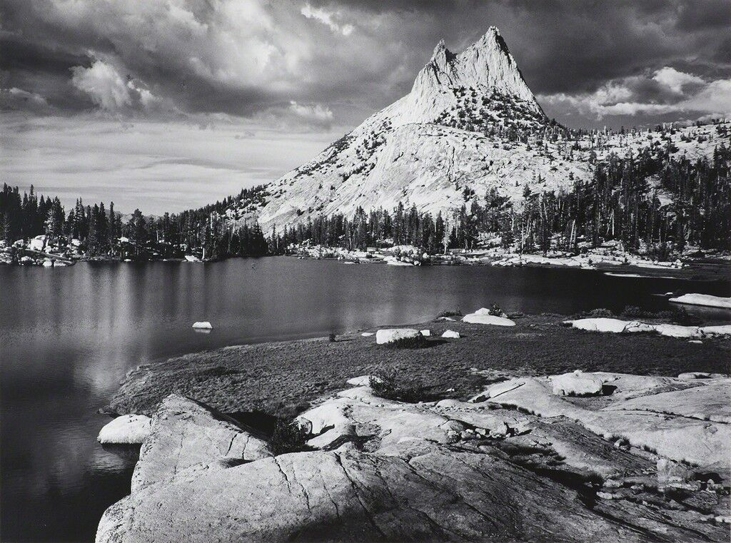 Cathedral Peak and Lake, Yosemite National Park
