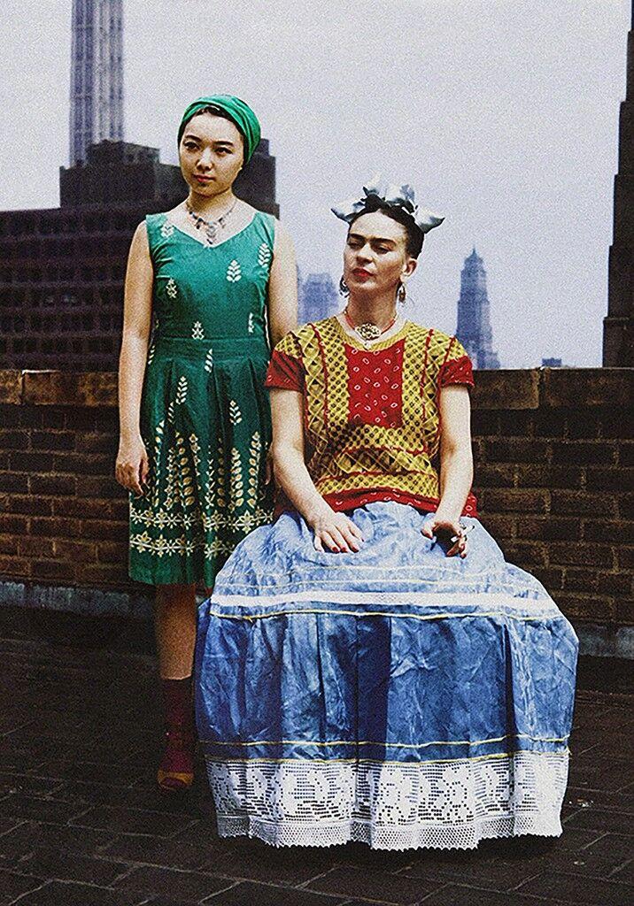 Frida Kahlo & Celine Liu I