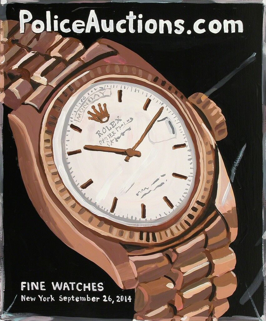 Police Auction (Fine Watches)